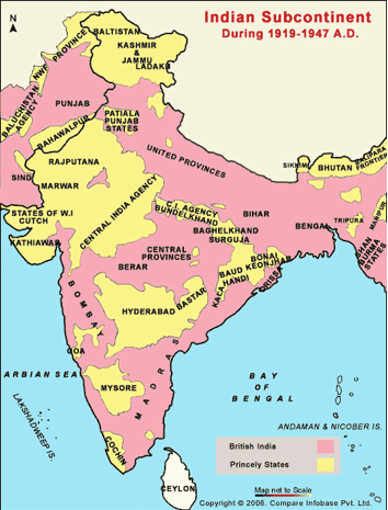 Maps - The British raj India Map on india and pakistan history, india pakistan migration, india 1800s, india before pakistan, india and pakistan independence, india pakistan 1947, india after independence, india and pakistan conflict 2013, india colonial period, india split, india before 1947, india during british rule, india after partition, india in 1947,